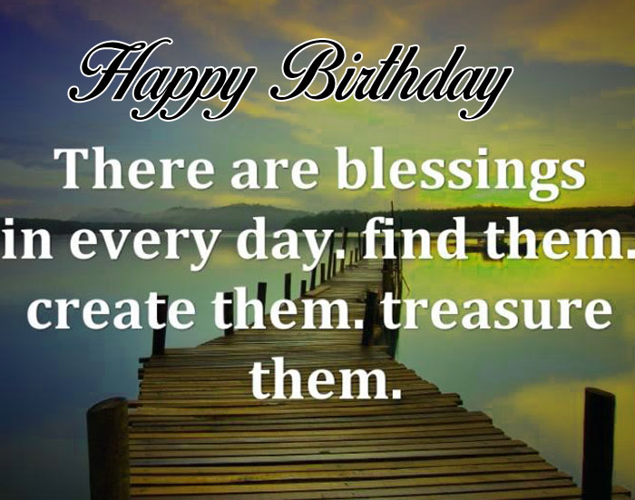 cute Happy Birthday Blessing picture