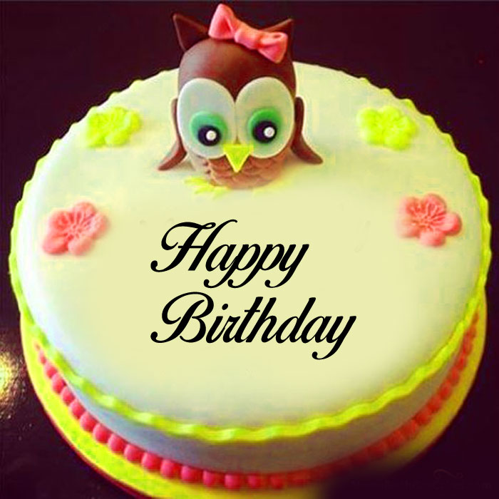 cute cake Happy Birthday Cartoon wallpaper