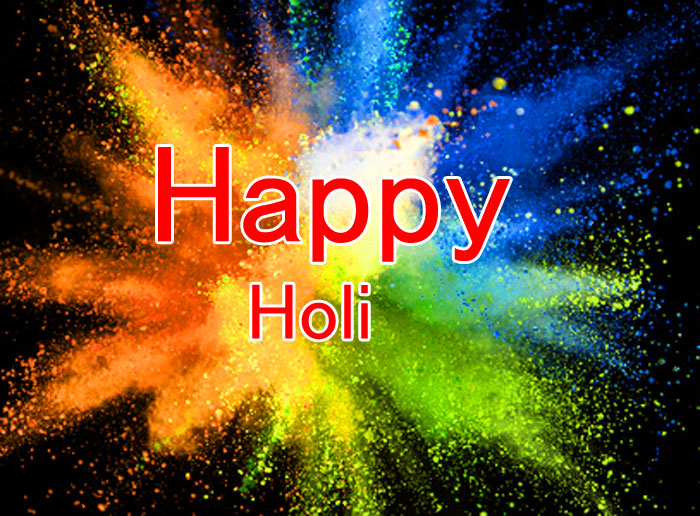 cute colorful Happy Holi pics hd