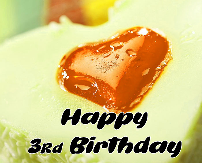 cute heart Happy rd birthday images hd