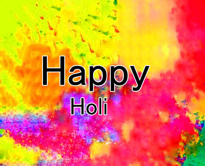dark Happy Holi photo