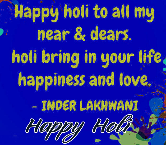 english Happy Holi My Love images
