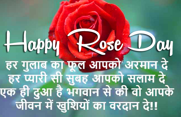 flower Happy Rose Day wishes for love images