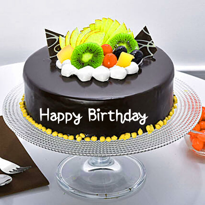 fruits Happy Birthday chocolate images hd