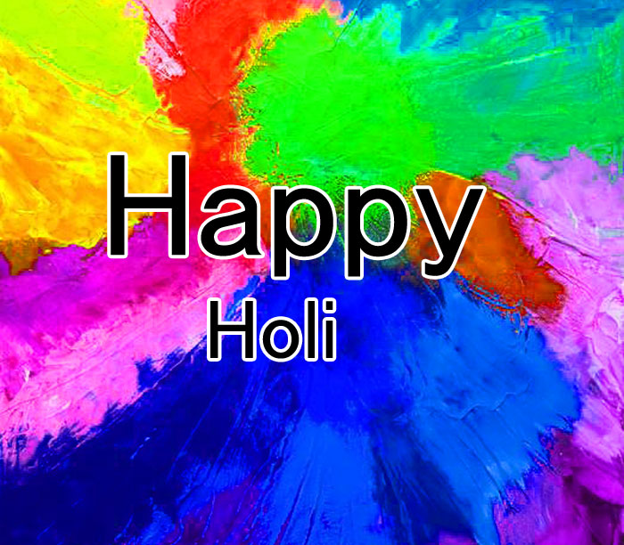 ghappy holi background down