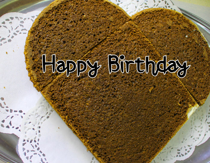 heart Happy Birthday chocolate images