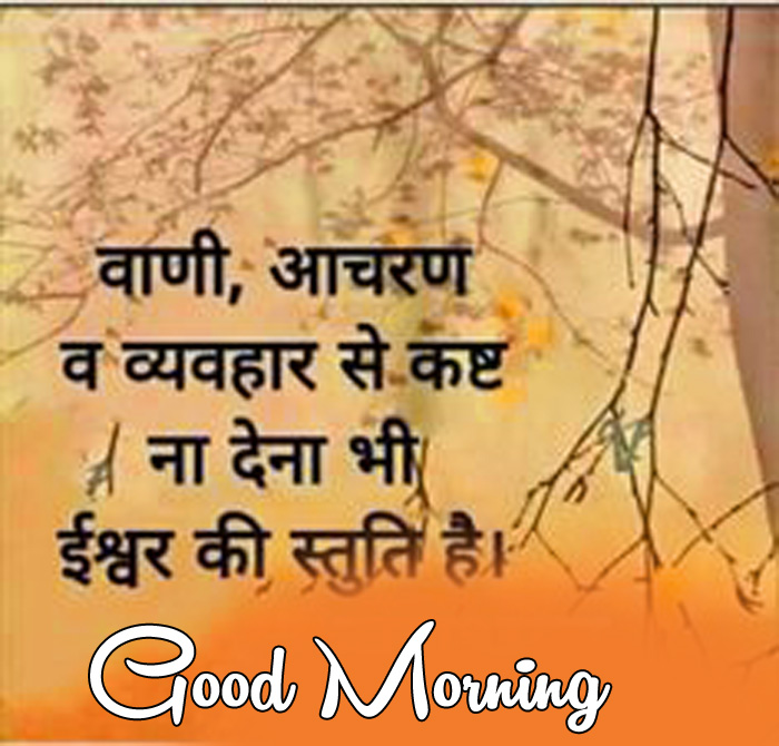 latest Good Morning quotes in hindi picture
