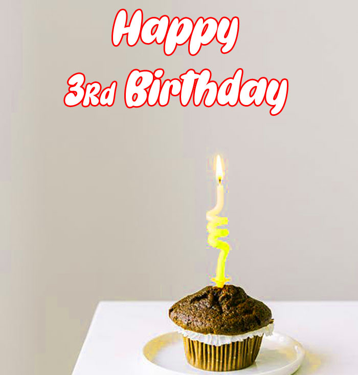 latest Happy rd birthday cute cake images