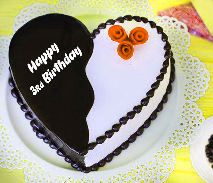 latest Happy rd birthday heart images