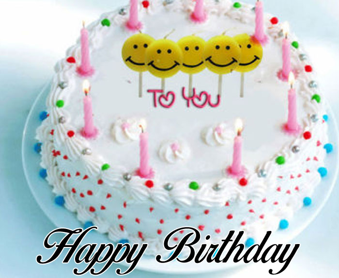 latest Happy Birthday Cartoon cake wallpaper