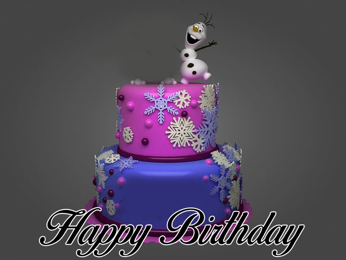 latest Happy Birthday Cartoon cute cake images hd