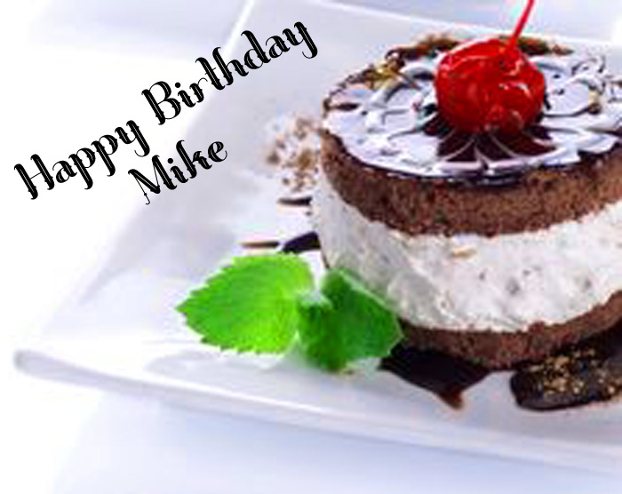 latest Happy Birthday Mike cakes images hd