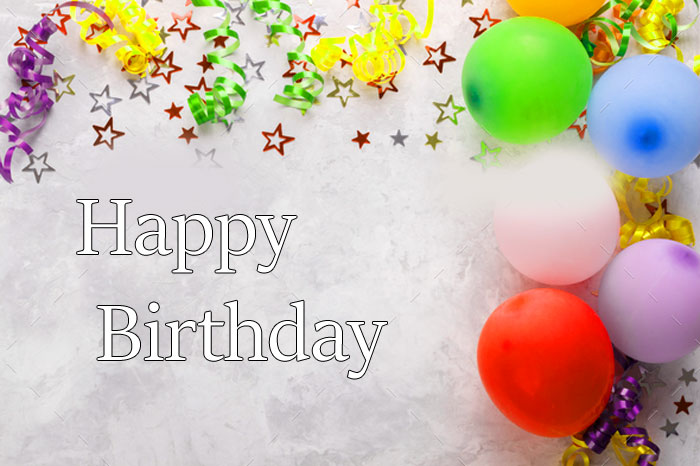latest Happy Birthday balloon colorful images hd