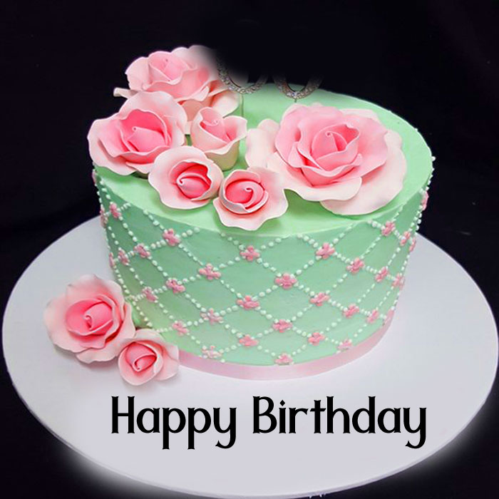 latest Happy Birthday female cake images hd