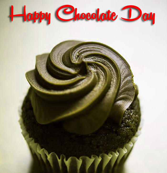 latest Happy Chocolate Day black heart images hd
