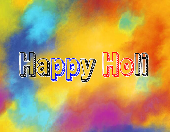 latest Happy Holi hd photo