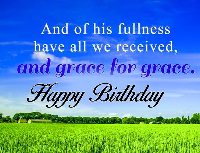 latest bible Happy Birthday Blessing pcis hd