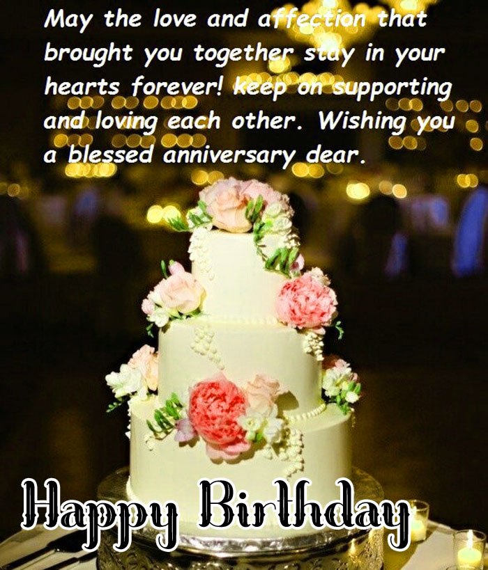 latest cake Happy Birthday Blessing images hd