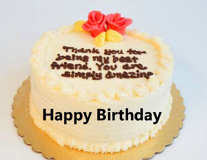 latest cake Happy Birthday Message picture hd