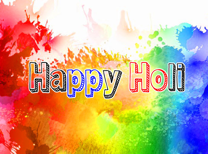 latest colorful Happy Holi hd photo