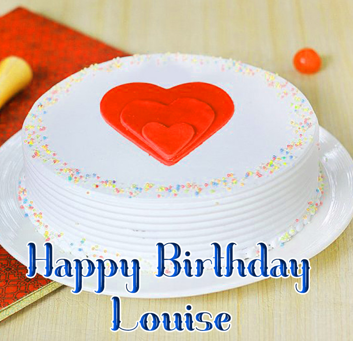 latest cute red love Happy Birthday Louise photo
