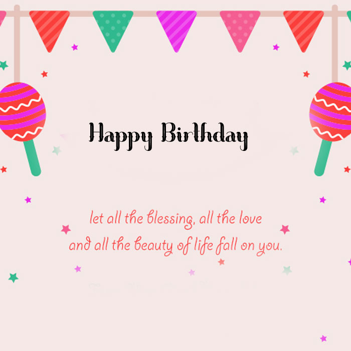 latest heart Happy Birthday Blessing images hd