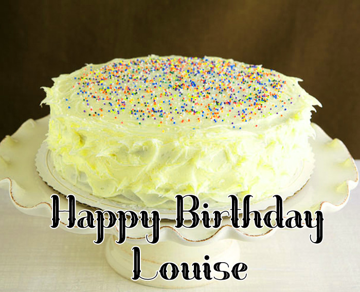 latest white heart Happy Birthday Louise hd