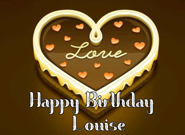 love Happy Birthday Louise images