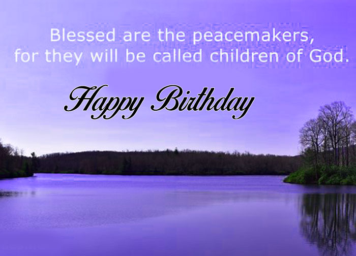 nature Happy Birthday Blessing images hd