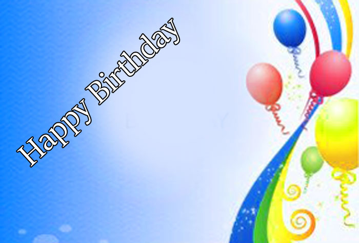 new Happy Birthday balloon colorful images