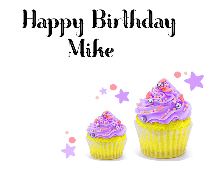 nice Happy Birthday Mike cute images hd