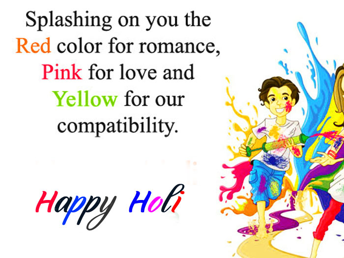 nice Happy Holi My Love pics hd