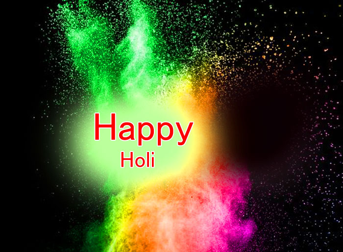 nice Happy Holi photo