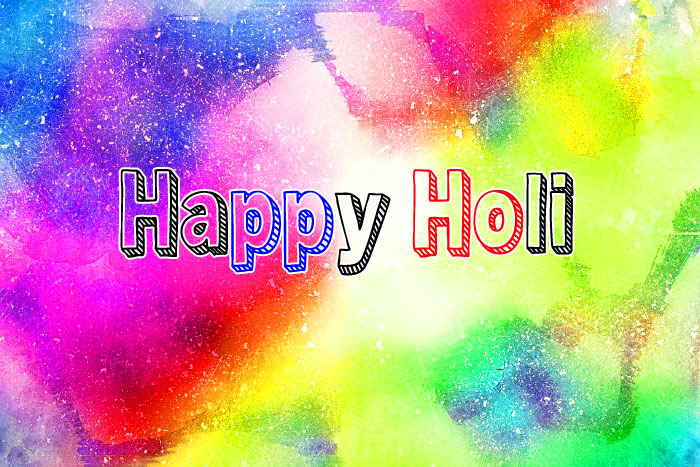 nice Happy Holi wallpaper hd