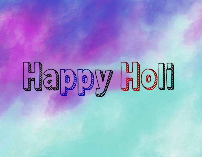 nice blue Happy Holi images hd