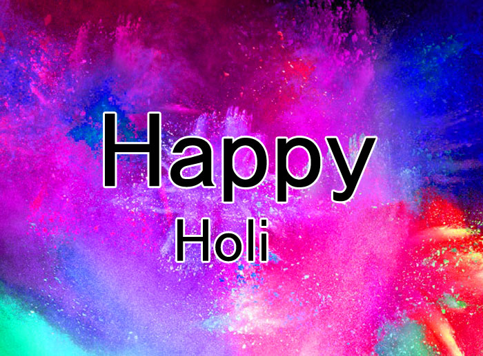 nice colorful Happy Holi photo
