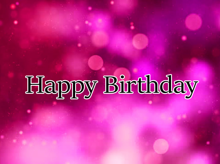 pink Happy Birthday images