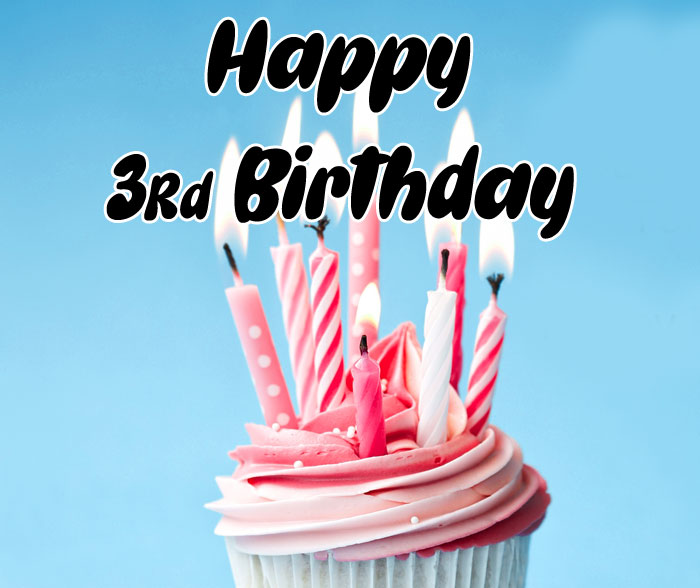 pink cake Happy rd birthday images hd