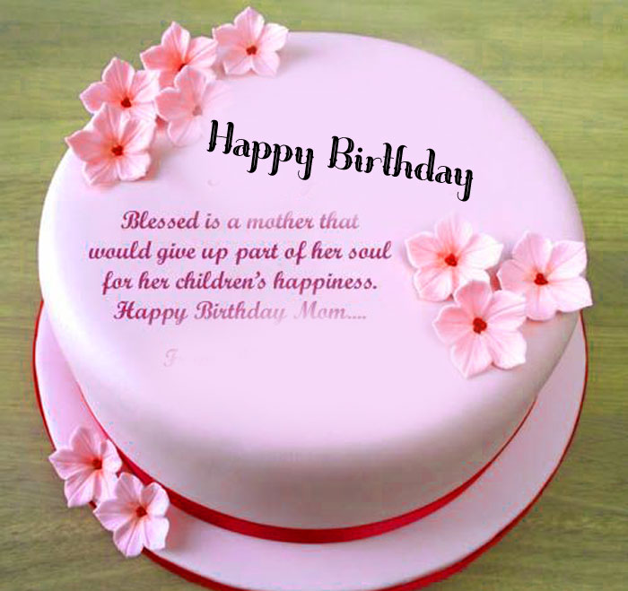 pink cake Happy Birthday Blessing images hd