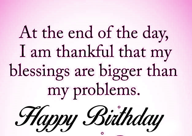 quotes Happy Birthday Blessing hd