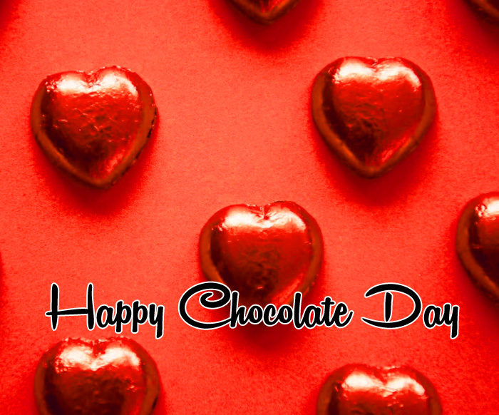 red heart Happy Chocolate Day pics hd