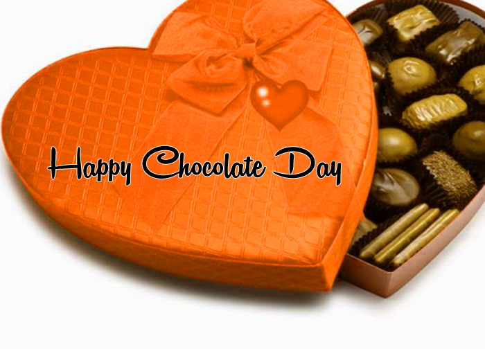 red love Happy Chocolate Day photo