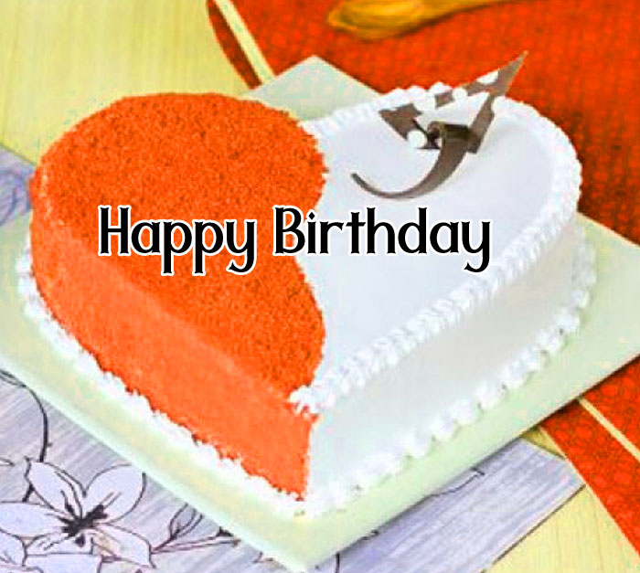 romantic cake Happy Birthday female images hd
