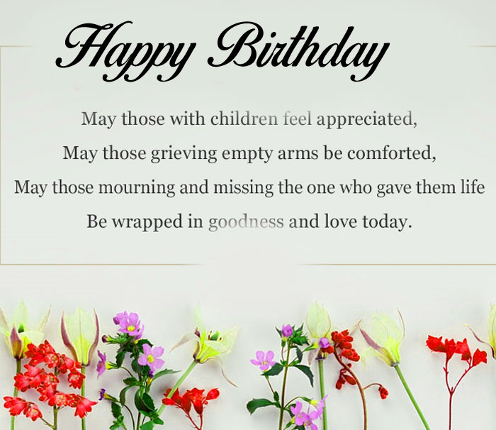 small flower Happy Birthday Blessing images hd