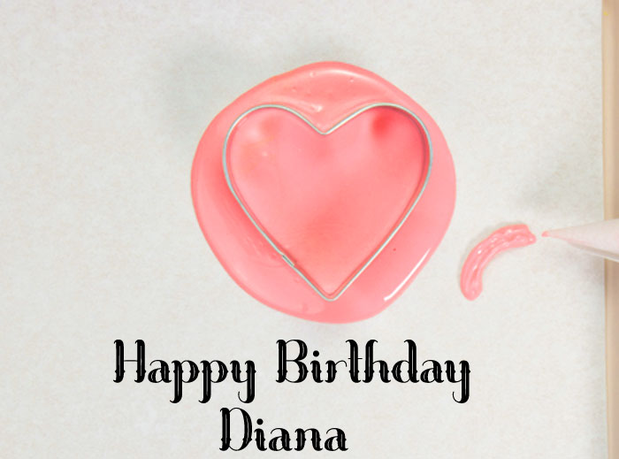 spring Happy Birthday diana cake images hd