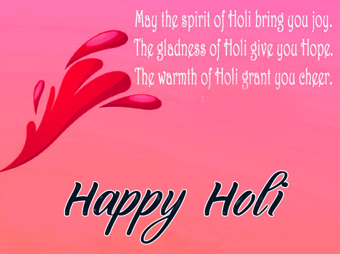 spring Happy Holi My Love hd