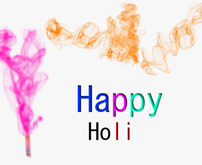two color Happy Holi images hd
