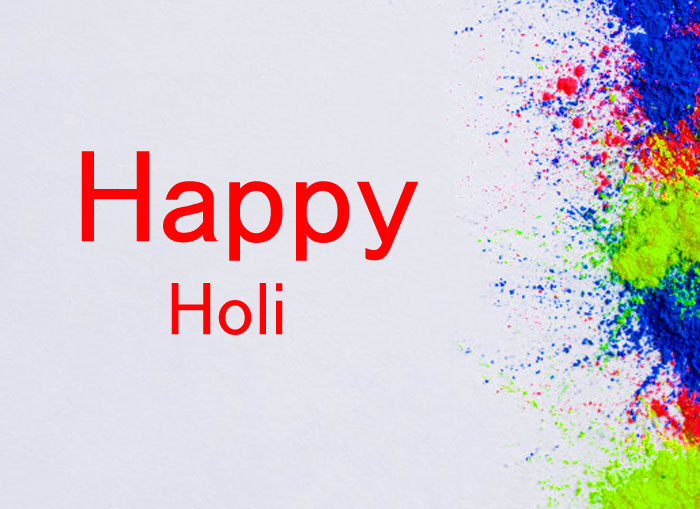 white background Happy Holi images