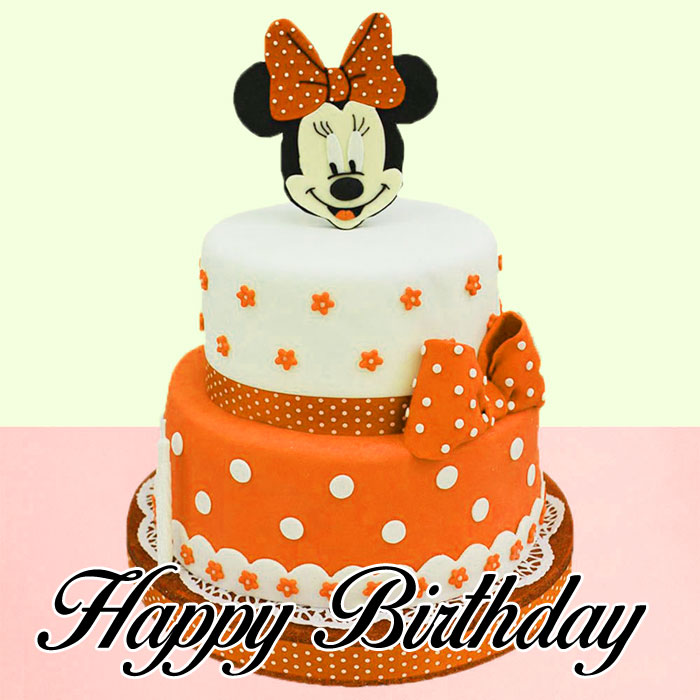 white cake Happy Birthday Cartoon wallpaper