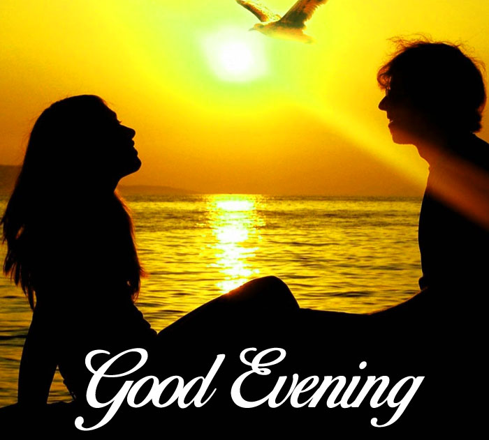 Good Evening couple wallpaper